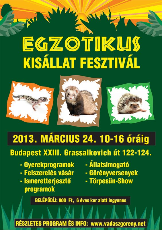 egzotikus kisállat fesztivál 130324
